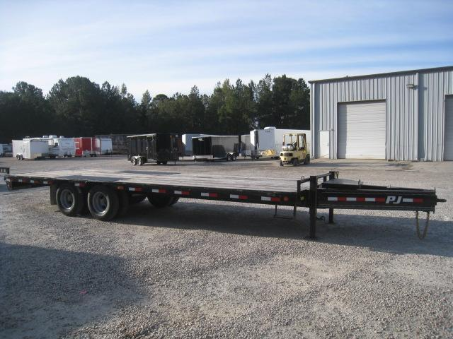 2019 PJ Trailers PL 25' Low Pro with Pintle Equipment Trailer