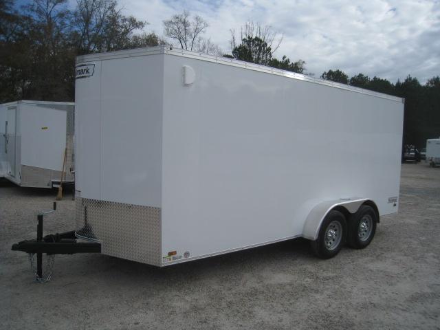 2020 Haulmark 7 X 16 Transport Vnose Enclosed Cargo Trailer