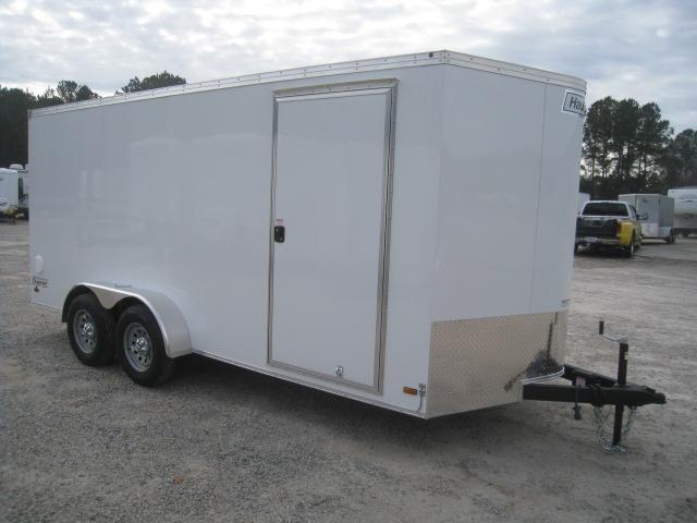 2020 Haulmark 7 X 16 Transport Vnose Enclosed Cargo Trailer