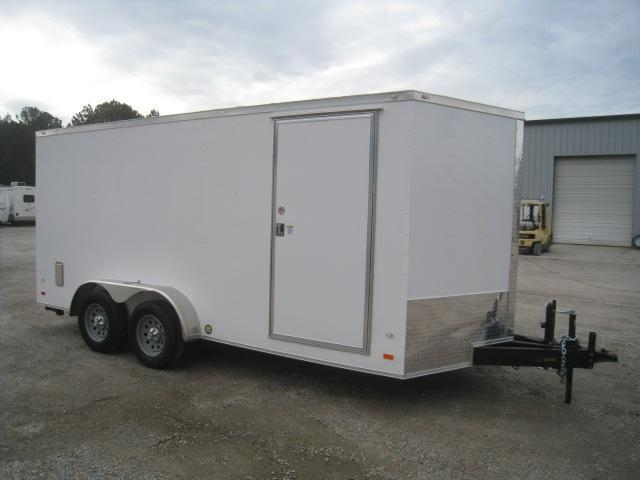 2020 Covered Wagon Trailers 7 X 16 Vnose Landscape Enclosed Cargo Trailer