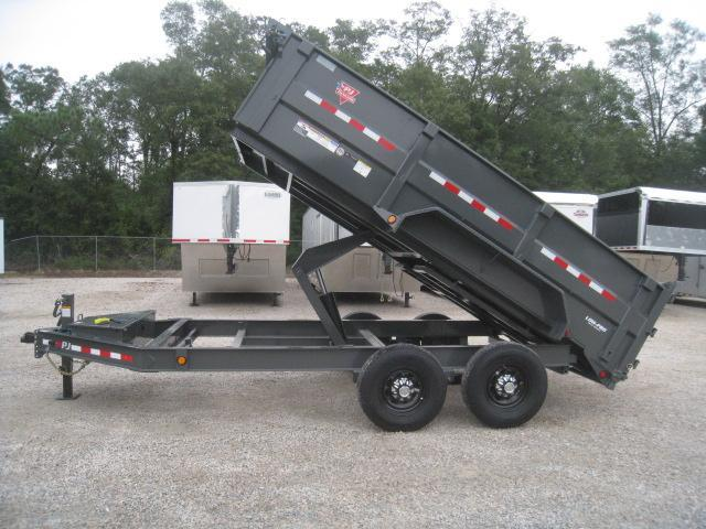 2020 PJ Trailers 14 X 83 DM Low Pro High Side Dump Trailer