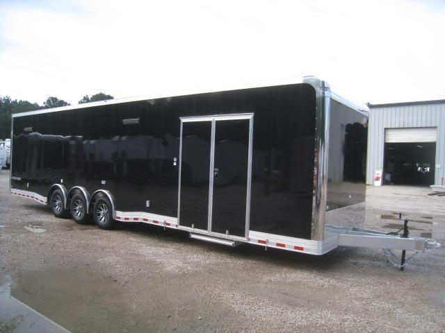 2020 Cargo Mate Eliminator Aluminum 34 Car / Racing Trailer