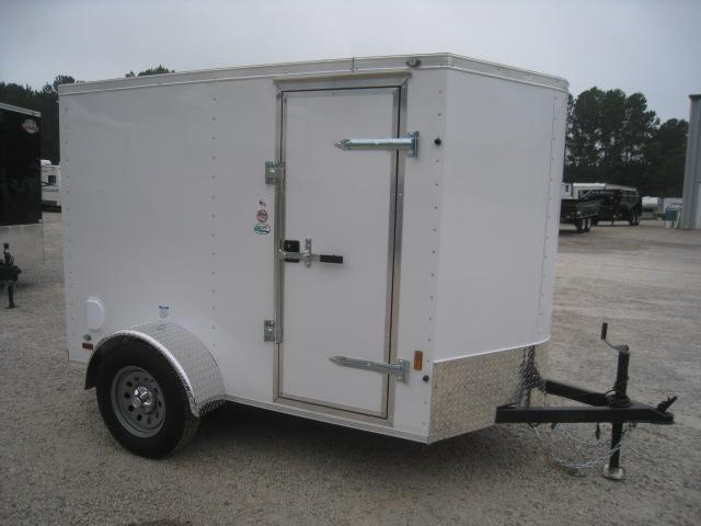 2020 Continental Cargo Sunshine 5 x 8 Vnose Enclosed Cargo Trailer