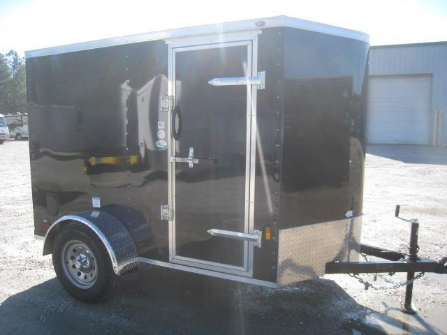 2021 Continental Cargo Sunshine 5x8 Enclosed Cargo Trailer with Ramp Door