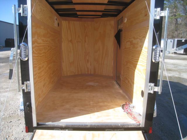 2021 Continental Cargo Sunshine 5x8 Enclosed Cargo Trailer with Ramp Door
