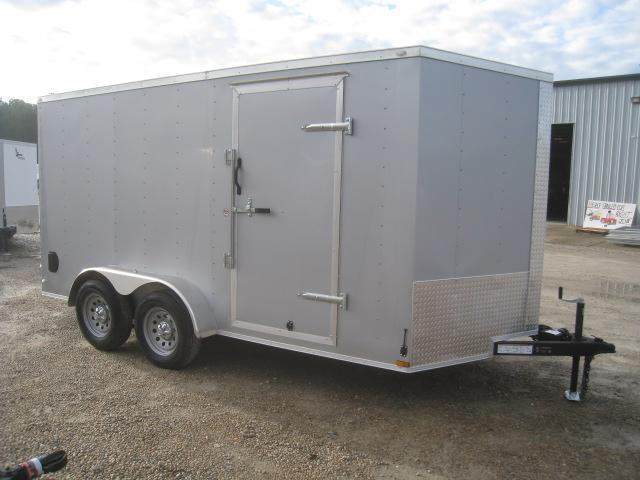 2020 Lark 7 X 14 Vnose Enclosed Cargo Trailer