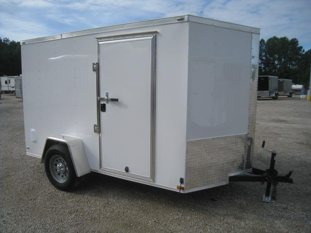 2020 Lark 6 X 10 Vnose Enclosed Cargo Trailer