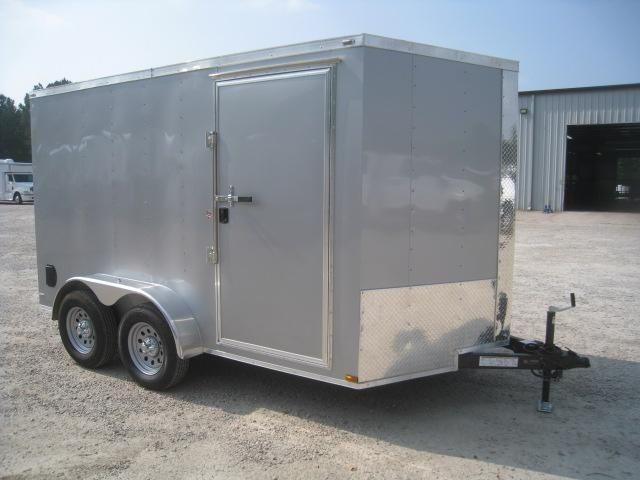 2020 Lark 7 X 12 Vnose Enclosed Cargo Trailer