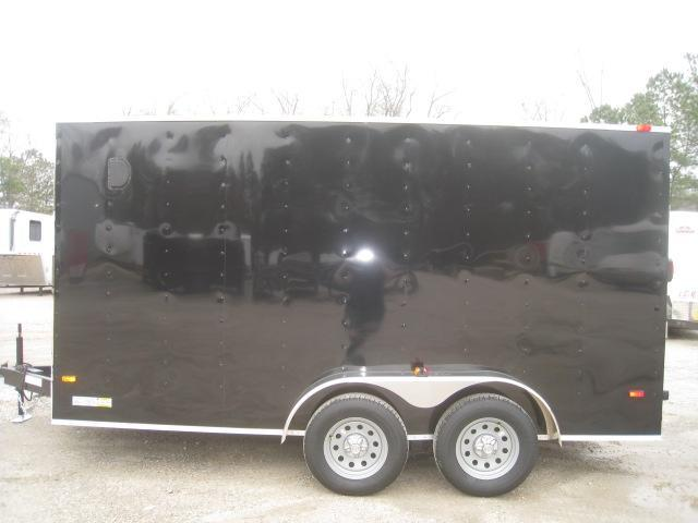2020 Covered Wagon Trailers Silver Series 7X14 Vnose Enclosed Cargo Trailer