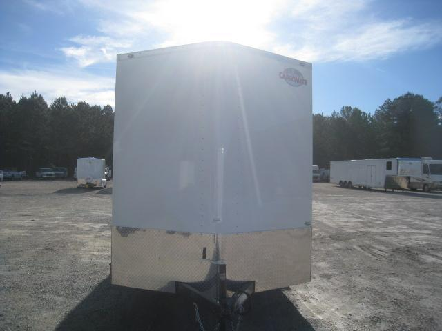 """2020 Continental Cargo Sunshine 7x16 Vnose Enclosed Cargo Trailer with 12"""" Extra Height"""