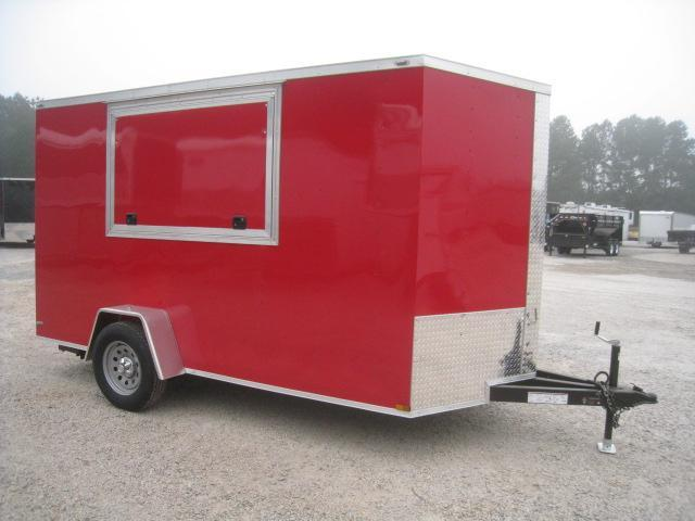 2020 Lark 6 X 12 Vnose Vending / Concession Trailer