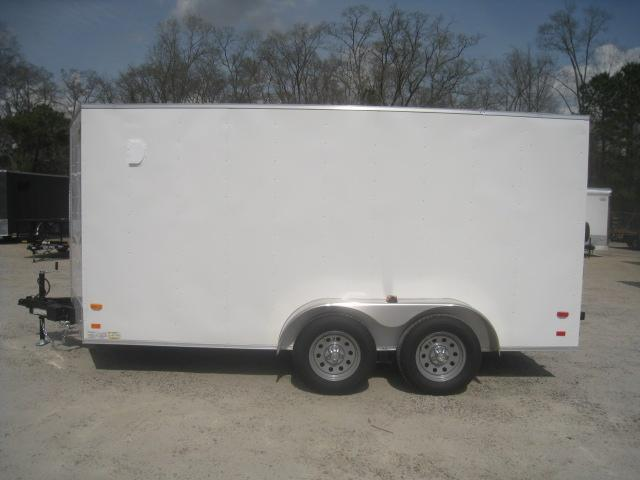 2020 Covered Wagon Trailers Silver Series 7x14 Enclosed Cargo Trailer