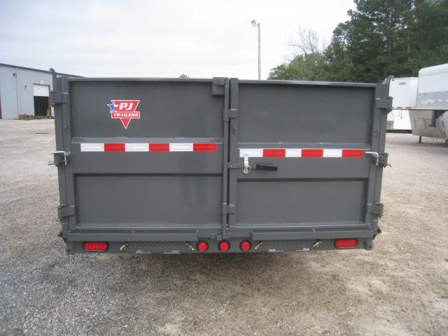 2020 PJ Trailers 16 x 83 DM Low Pro High Side Dump Trailer