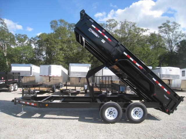 2020 PJ Trailers DL 16 X 83 Low Pro Dump Trailer