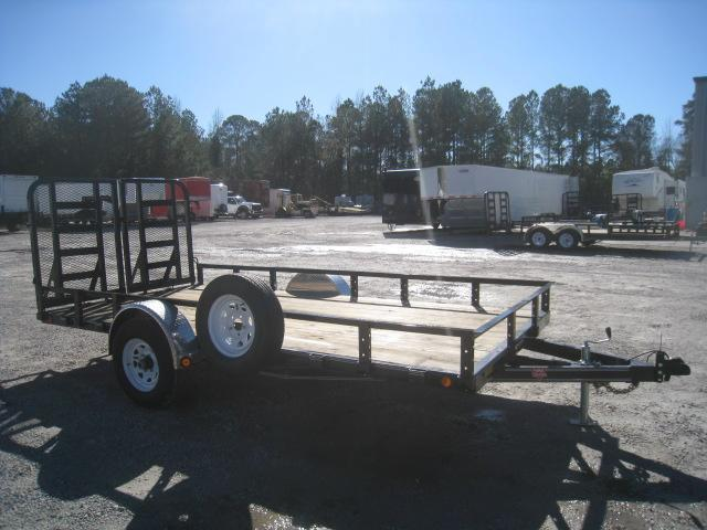2020 PJ Trailers U8 12 x 83 Single Axle Utility Trailer