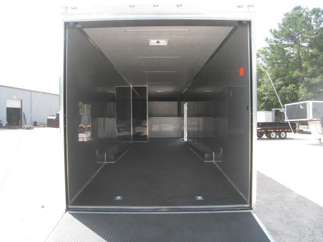 2020 Cargo Mate Eliminator 44' Gooseneck Car / Racing Trailer Loaded