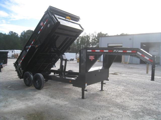 2020 PJ Trailers 14 x 83 High Side Gooseneck Dump Trailer