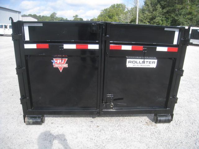 2020 PJ Trailers DR Gooseneck 14 x 83 Rollster Roll Off Dumpster Dump Trailer