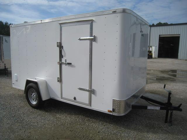 2020 Lark 6 X 12 Flat Front  Enclosed Cargo Trailer