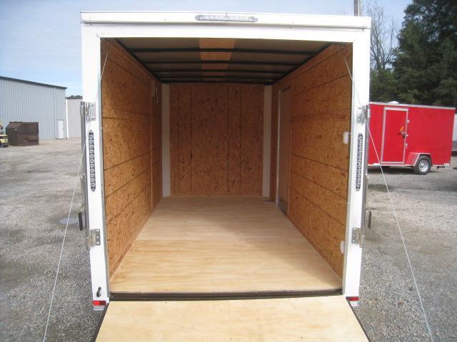 2020 Lark 6 X 12 Flat Front  Enclosed Cargo Trailer