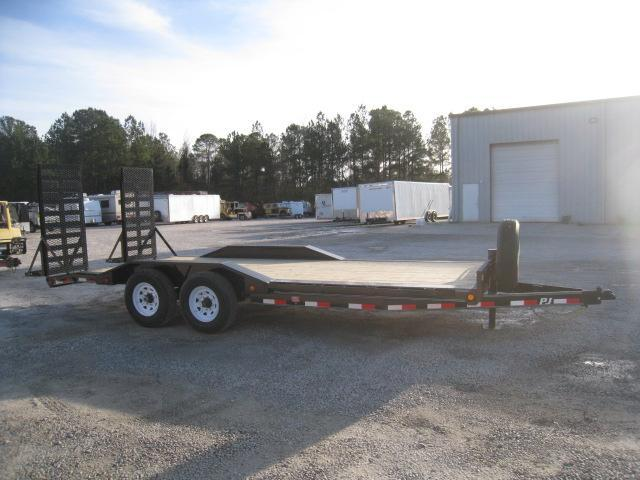"2019 PJ Trailers 20' B6 6"" Channel Superwide Equipment Trailer"