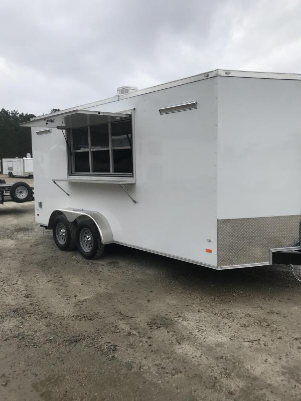 2020 Covered Wagon Trailers 7 x 16 Vending / Concession Trailer
