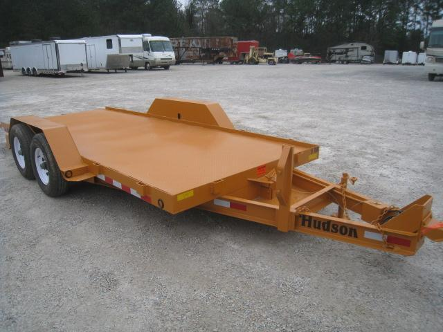 2020 Hudson Brothers (5) Ton 16' Tilt Bed Equipment Trailer