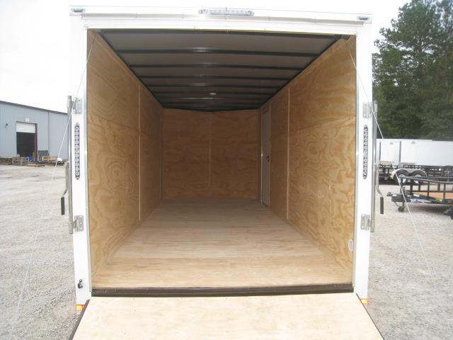 2020 Lark 7 X 18 Vnose Enclosed Cargo Trailer