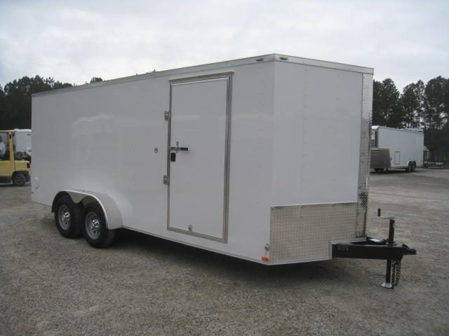 2020 Lark 7 X 18 Vnose Enclosed Cargo Trailer