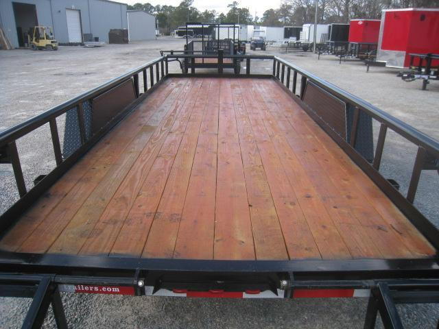 2020 Texas Bragg Trailers 18' Big Pipe Equipment Trailer with 6k Axles