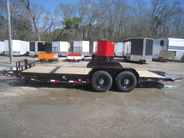 2020 PJ Trailers T6 16 + 4 Tilt Bed Equipment Trailer with 7k Dexters