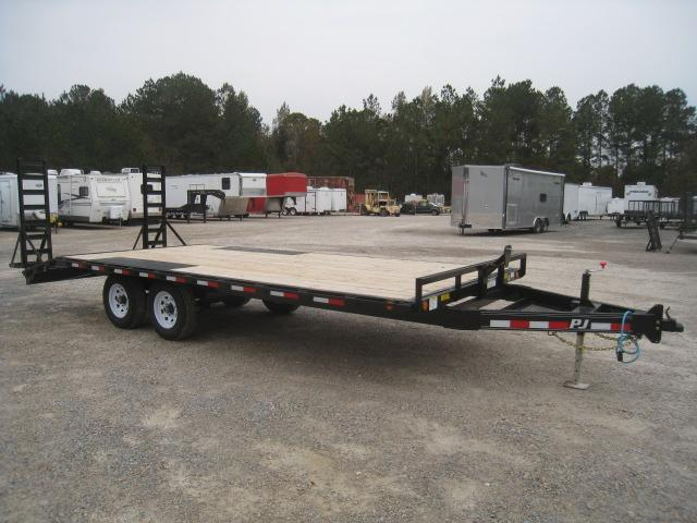 2020 PJ Trailers L6 Medium Duty Deckover 18 + 3 Equipment Trailer