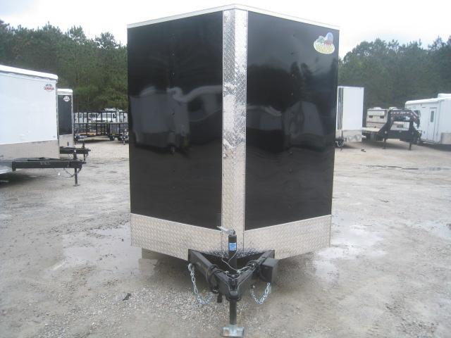 2020 Covered Wagon Trailers Silver Series 6x12 Vnose Enclosed Cargo Trailer