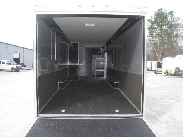 2020 Cargo Mate Eliminator 34' Car / Racing Trailer with Full Bathroom Package and More