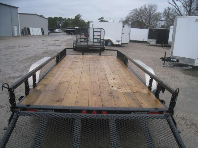 2020 PJ Trailers UL 16 x 83 Utility Trailer  with ATV Ramps and Rear Gate