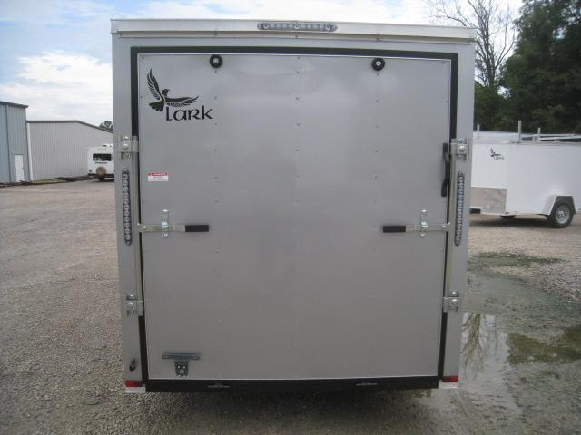 2020 Lark 6 X 12 Vnose Enclosed Cargo Trailer