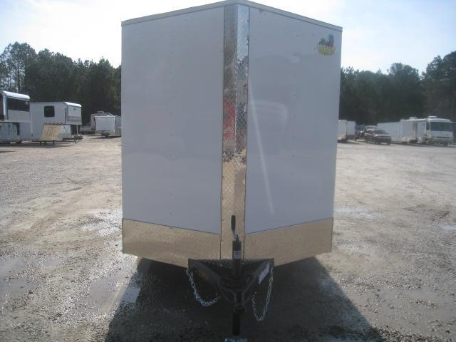 2020 Covered Wagon Trailers 6X12 Silver Series Enclosed Cargo Trailer
