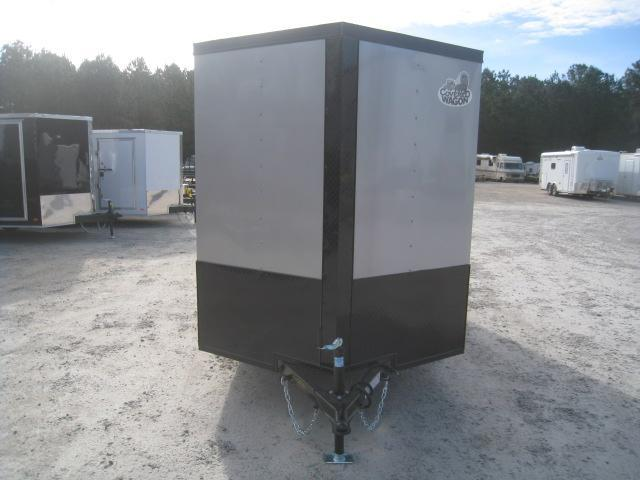2020 Covered Wagon Trailers Gold Series 6x12 Vnose Enclosed Cargo Trailer