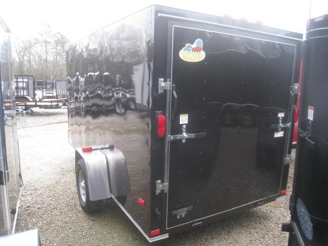 2020 Covered Wagon Trailers Silver Series 6 x 12 Vnose Enclosed Cargo Trailer