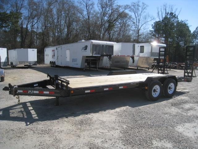 2020 PJ Trailers H4 Pro Beam 20' Equipment Trailer with 8K Axles