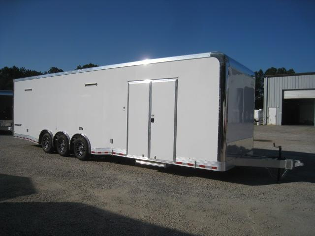 2020 Cargo Mate Eliminator 32' Aluminum Car / Racing Trailer