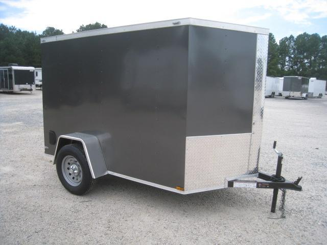 2020 Lark 5 X 8 Vnose Enclosed Cargo Trailer