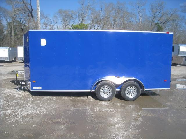2020 Covered Wagon Trailers Silver Series 7x16 Vnose Enclosed Cargo Trailer