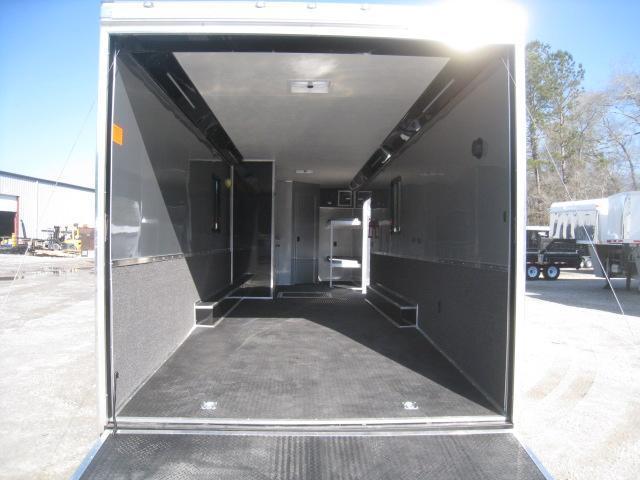 2019 Cargo Mate Eliminator 34 Car / Racing Trailer with Full Bathroom