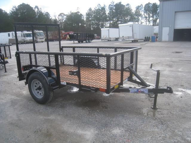 "2020 Texas Bragg Trailers 5x8 Utility Trailer with 24"" Expanded Metal Sides"
