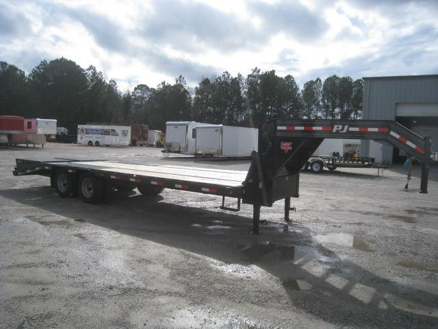 2020 PJ Trailers LD 20 + 5 Deckover Dual Tandem Equipment Trailer