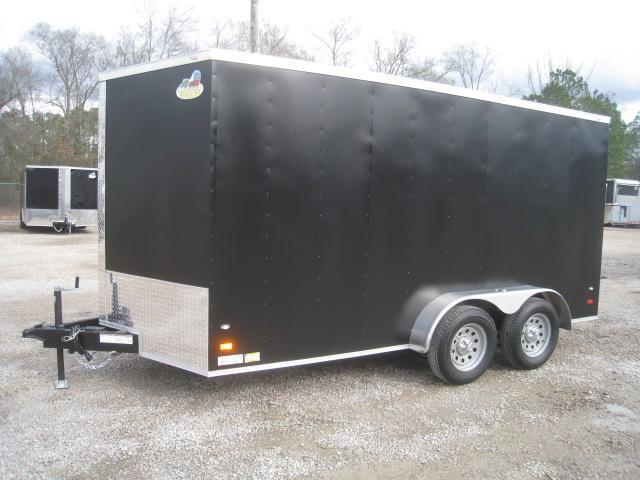 2020 Covered Wagon Trailers Gold Series 7x14 Enclosed Cargo Trailer