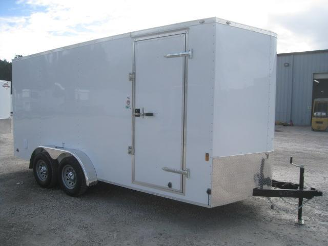 2020 Continental Cargo Sunshine 7x16 Vnose Enclosed Cargo Trailer with Ramp Door