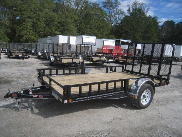 2020 PJ Trailers U8 12 X 83 Single Axle Utility Trailer