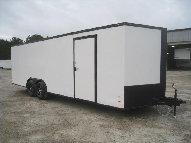 2020 Covered Wagon Trailers Gold Mine Series 24' Vnose Car / Racing Trailer with Powedercoated Exterior